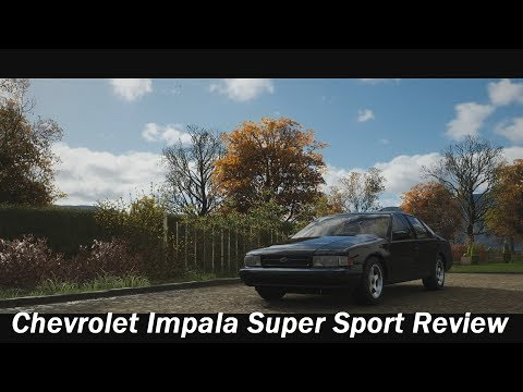 1996 Chevrolet Impala Super Sport Review (Forza Horizon 4)