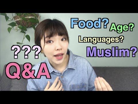 [Q&A] Moroccan food, age, muslim,languages/나이,무슬림,모로코음식,언어