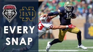 Every snap of New Mexico vs. Notre Dame | 9/14/19 | NBC Sports