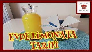 KATKISIZ EVDE LİMONATA TARİFİ👌🍹🍹🍹 yemek tarifleri limonata evdelimonata katkısızlimonata