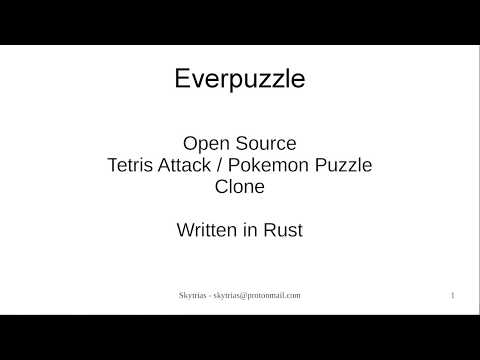 Everpuzzle - using the Amethyst Engine with Rust for Games thumbnail