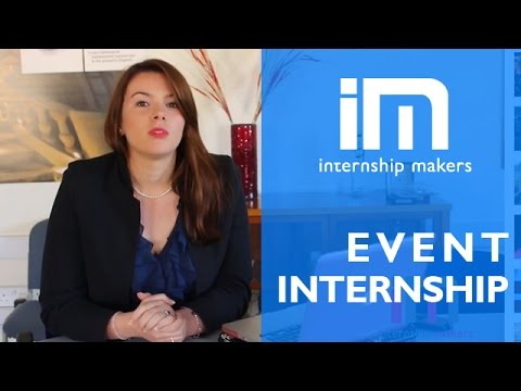 Event Internship - Student's testimonial - Internship Makers