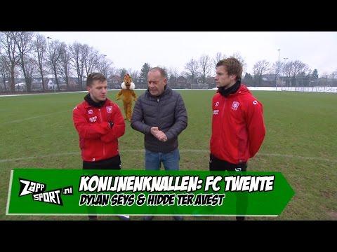 Konijnenknallen met FC Twente | ZAPPSPORT