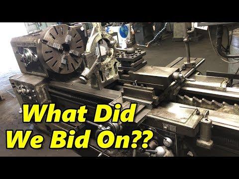 Machine Shop Auction: Bidding Day