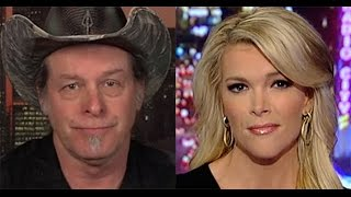 Ted Nugent Gets Naked To Watch Megyn Kelly