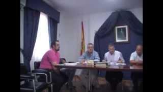 Pleno Montejaque Septiembre 2013
