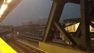 Lightning strikes Freedom Tower - Vinyette