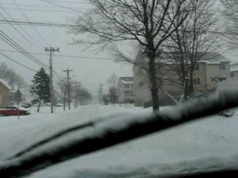 2010-1-3 = 3 day storm - driving around Danvers MA