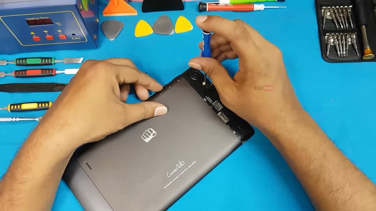 the latest 108cb 7f39a Micromax Canvas Tab P680 -P681 Disassembly    Tear down    All internal  Parts of Micromax Canvas Tab