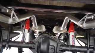 Dual flowmaster 40s 2.5 inch pipes + HPipe