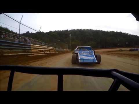 Tyler County Speedway Modified Heat 7-8-2016, Tanner Wilson GoPro