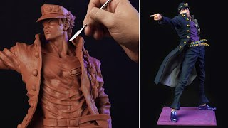 Sculpting JOTARO KUJO | Jojo's Bizarre Adventure