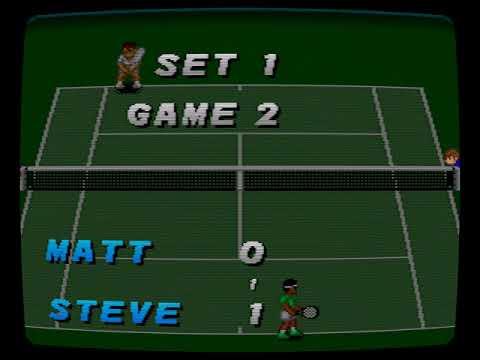 Super Tennis (Super Nintendo)