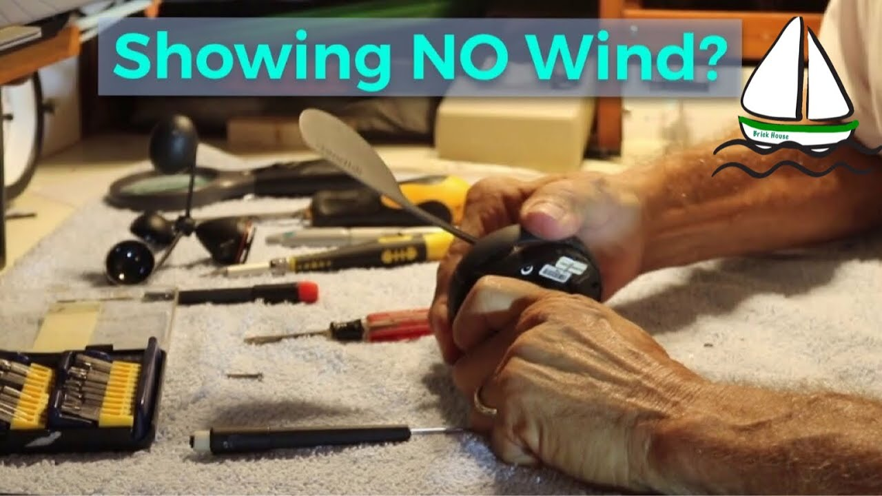 Raymarine/Tacktick Wireless Wind (T101) /Anemometer Repair - Patrick  Childress Sailing Tips #5