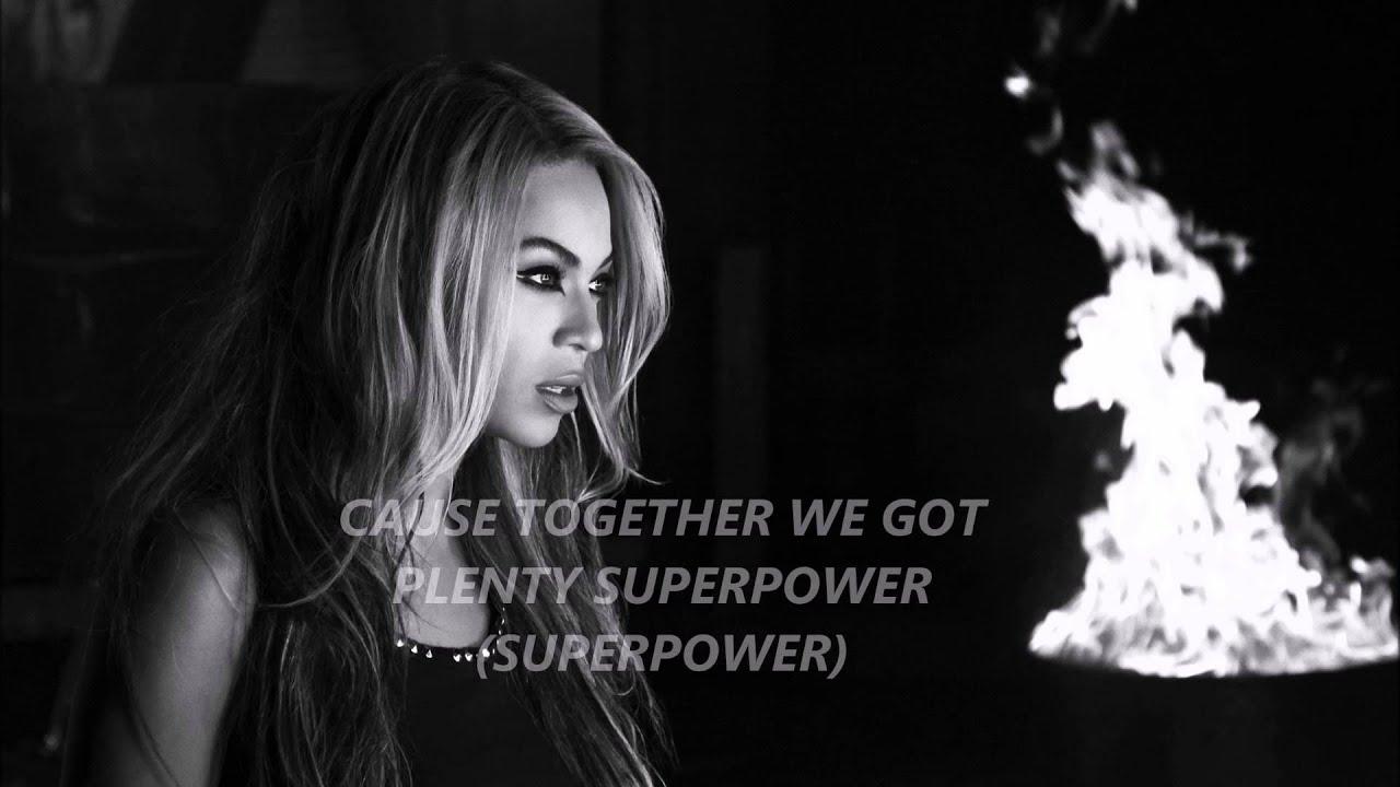 Beyoncé - Superpower Lyrics | MetroLyrics