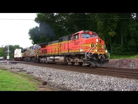 NORFOLK SOUTHERN TRAINS SHOT IN MABLETON,GA. 9-6-2017
