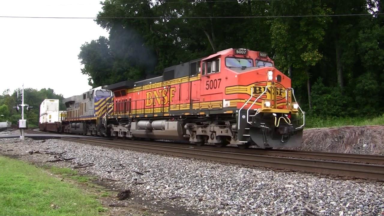 NORFOLK SOUTHERN TRAINS SHOT IN MABLETON,GA  9-6-2017 - YouTube