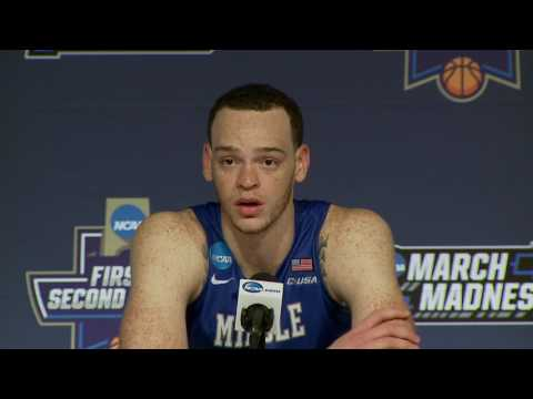 News Conference: Middle Tennessee First Round Postgame