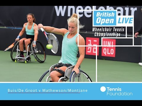 Buis/De Groot v Mathewson/Montjane | British Open Wheelchair Tennis 2017