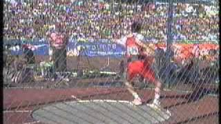 horvath discus throw olympics 1996 world athletics champs 1995