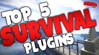 "Gambar cover Minecraft Saturday | Top 5 ""Survival"" Plugins"