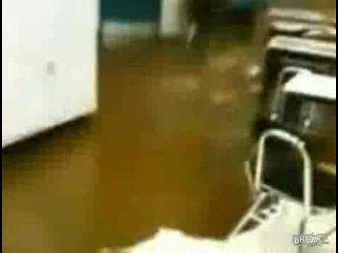 Hot Raw Sewage Floods Classroom