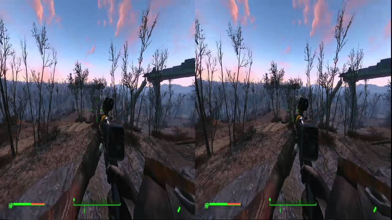 Exploring 'Fallout 4' In VR With Vireio Perception