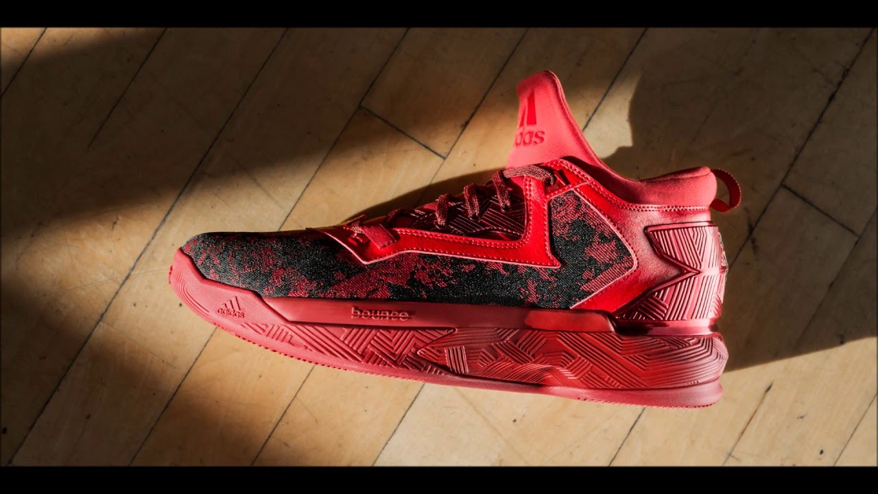 adidas damian lillard red shoes