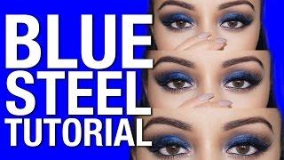 BLUE STEEL Makeup Tutorial