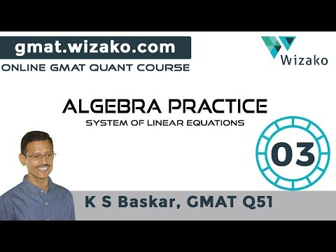System of Linear Equations | No Unique solution | GMAT Math