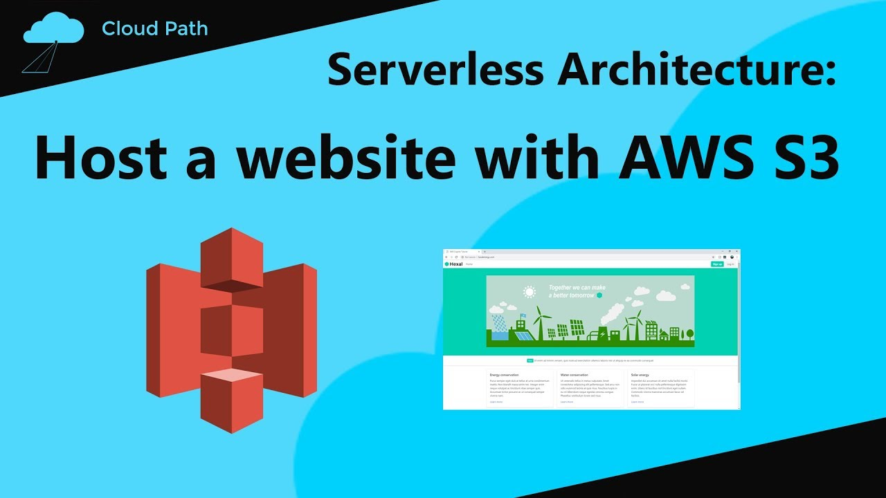 Host a Website with AWS S3 & AWS Route 53 | AWS Serverless