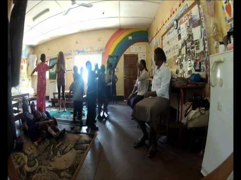 SPAR trip in ZAMBIA- Mwandi kids dancing:)
