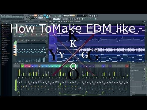 How to make EDM like Kygo