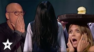 Scariest Auditions Ever! | Halloween's Got Talent | Got Talent Global