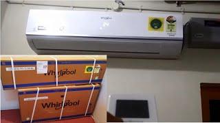 Whirlpool 1 5T MAGICOOL PRO Plus Inverter Split AC Unboxing amp Installation