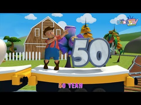 Counting 1 to 50 and More   Children Songs Videos   Kachy TV Nursery Rhymes - Kids Songs