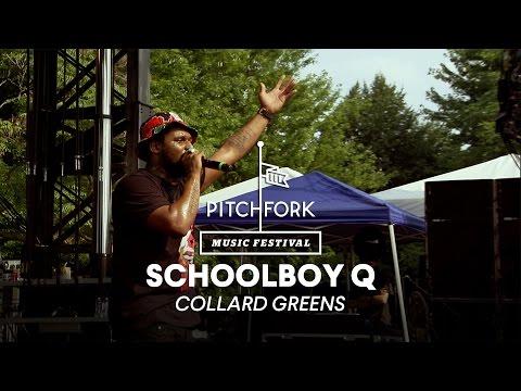 "Schoolboy Q performs ""Collard Greens"" - Pitchfork Music Festival 2014"