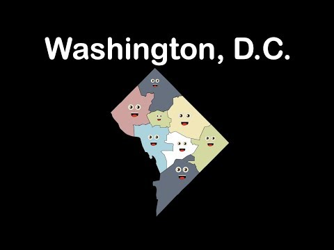 Washington, D.C./Washington, D.C. Geography./Washington, D.C. Capital of the USA