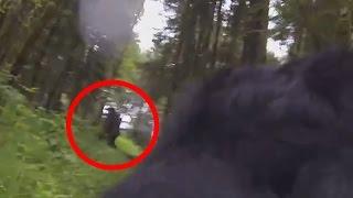 Bigfoot Captured On GoPro By Dog