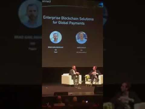Ripple CEO - Hints One of The Worlds Biggest Banks Wants to Use XRP