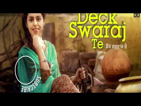 Deck Swaraj Te_Jenny johal (full video song)•latest 2017