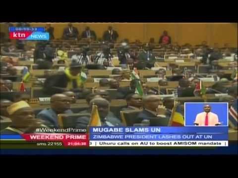 Zimbabwe president Mugabe slams United Nation