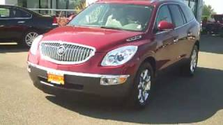 2010 Buick Enclave CXL AWD Red Enumclaw, Seattle, Puyallup, Tacoma, Auburn, WA - V1927