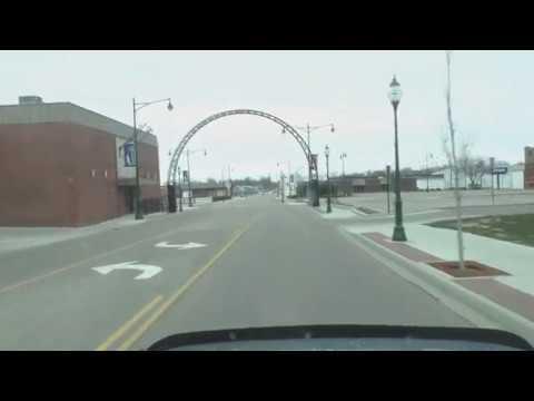 Driving around Jacksonville Illinois