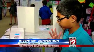 Kid inventors compete for top prizes at Invention Convention