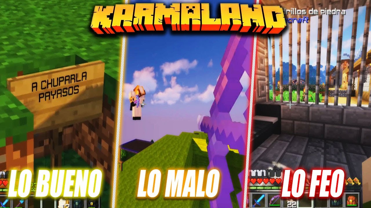 LO BUENO, LO MALO Y LO FEO DE WILLYREX EN KARMALAND #4