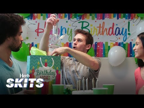 The Weed-Themed Birthday Party | Herb Skits
