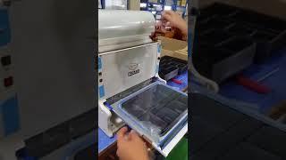MS3   오성산업 팩시스 도시락 포장기 작동법 &qu…