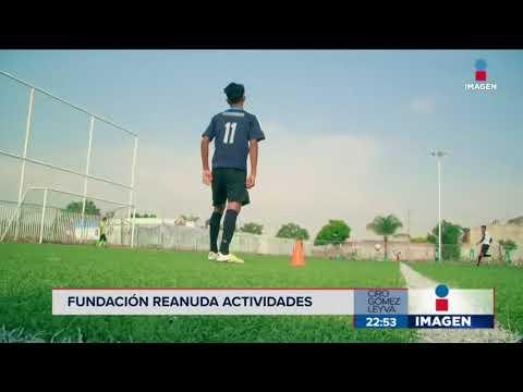 Fundación Rafa Márquez reinicia actividades | Noticias con Ciro Gómez Leyva