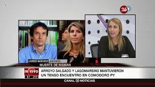 """""""El cruce entre Arroyo Salgado y Lagomarsino"""", en """"La lupa"""" ..."""